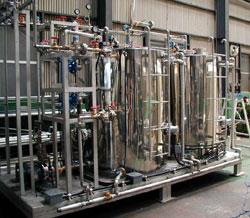 蒸気式温水製造プラント2