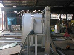 水槽式 回転洗浄機4