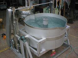 水槽式 回転洗浄機1