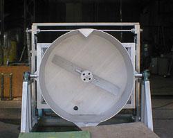 水槽式 回転洗浄機3